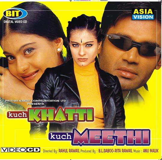 Kuch Khatti Kuch Meethi (2001) DM - Kajol, Rishi Kapoor, Rati Agnihotri, Sunil Shetty, Mita Vasisht, Pramod Muthu, Pooja Batra, Mayur.