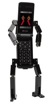 ロボットに変形するケータイ815T PB_bk