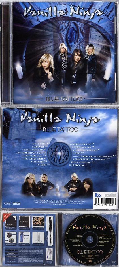 Blue - Vanilla Ninja Tattoo BLUE TATTOO 4:07 02. COOL VIBES 3:00 03.