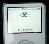 iPodディスプレイ