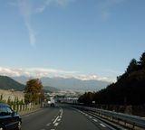 八ヶ岳を見て帰ろう。