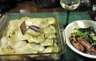 牛肉とジャガイモのポアソン