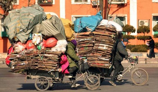 several_ways_to_transport_garbage_in_china_02