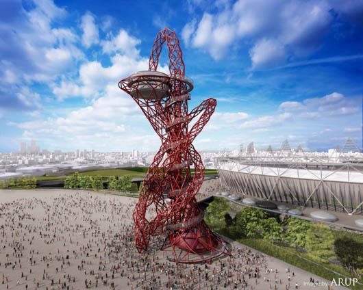 ロンドンオリンピックの塔
