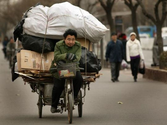 several_ways_to_transport_garbage_in_china_10