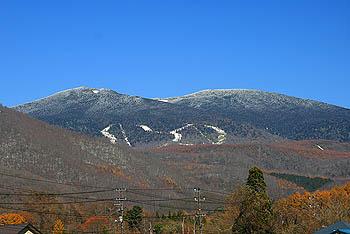 グランデコ初雪