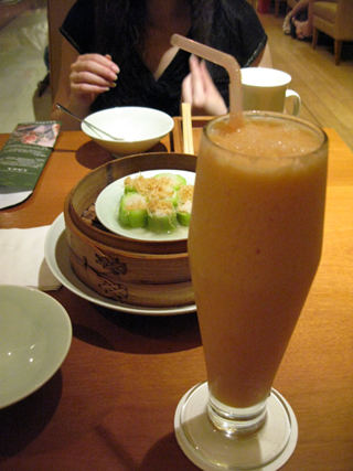 中国・上海・静安寺「一茶一坐 CHAMATE」