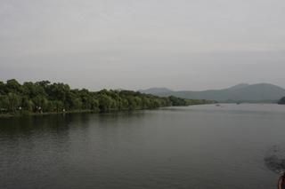 中国・杭州観光・西湖十景とも言われる西湖の風景、景色