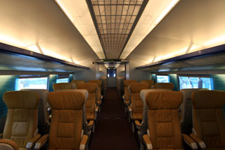 中国・上海のリニアモーターカー(トランスラピッド)上海磁浮列車