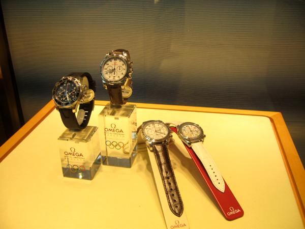 Omega(オメガ)の北京オリンピックモデルの腕時計