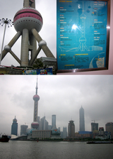 上海のランドマーク「TV塔」