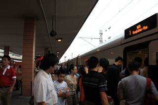 中国・上海列車紀行「上海南駅〜杭州駅」中国鉄路高速CRH和階号