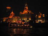上海のバンド(外灘)の美しい夜景