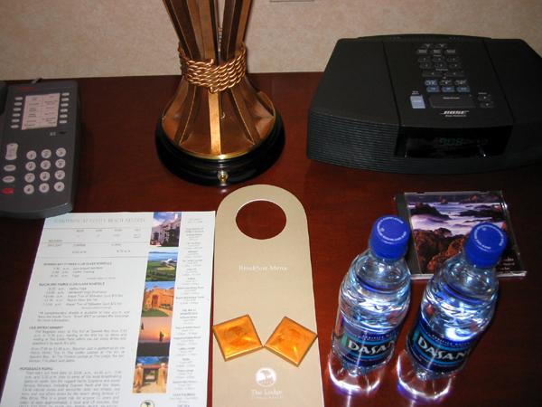 ペブルビーチゴルフリンクスのホテル「ザ・ロッジ・アット・ペブルビーチ」