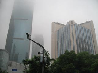 中国・上海の静安寺