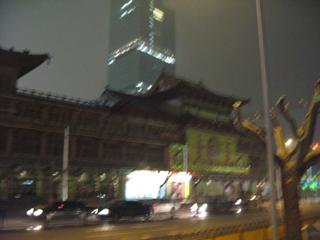 第六次的上海旅行−与好友夜里游玩