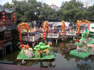 上海・豫園「緑波廊」