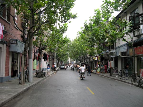 上海・裏通り散策