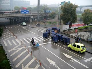 上海地下鉄1号線『共富新村駅』