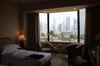 中国・上海の静安寺近くの上海錦滄文華大酒店 (上海JCマンダリンホテル)