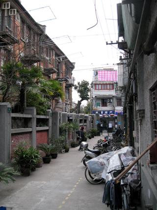 上海の虹口区にある、魯迅故居