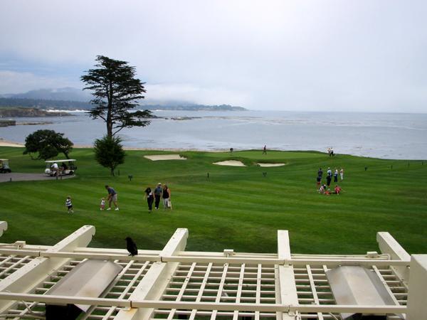 アメリカ西海岸の高級ゴルフリゾート「ぺブルビーチゴルフリンクス」