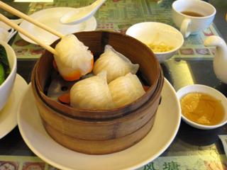 上海の錦江飯店裏の香港飲茶料理店「避風糖」