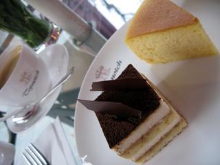 中国・上海 日本のケーキを食べることのできるカフェ、cake&chocolate「宝実(L'ecrin de Recolte)」