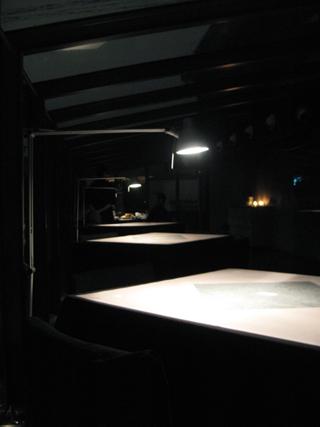 中国・上海 静安寺の巨鹿路、創作アジア料理レストラン「蛍七人間」