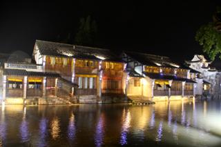中国・鳥鎮の夜景散歩