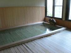 古代桧の大浴場