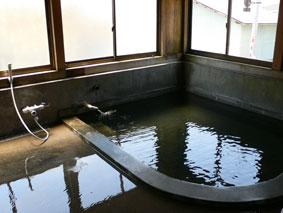 秘湯/湯の花温泉 素朴な共同浴場