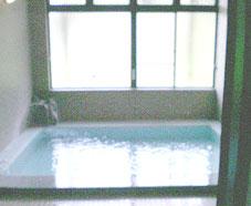 鮫川村湯の田温泉「つるや旅館」の温泉の写真。