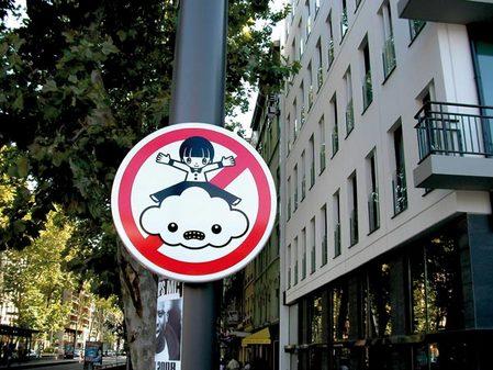 PANOS 2013,FAKE ROADSIGNS ニセ道路標識tsuyatsuya1