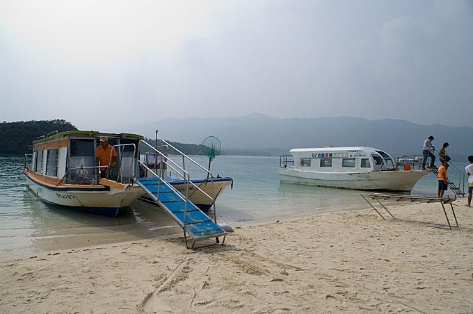 琉球の色 石垣島3日目 グラスボート侮るべからず