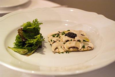 ペルゴラ前菜カルパッチョ