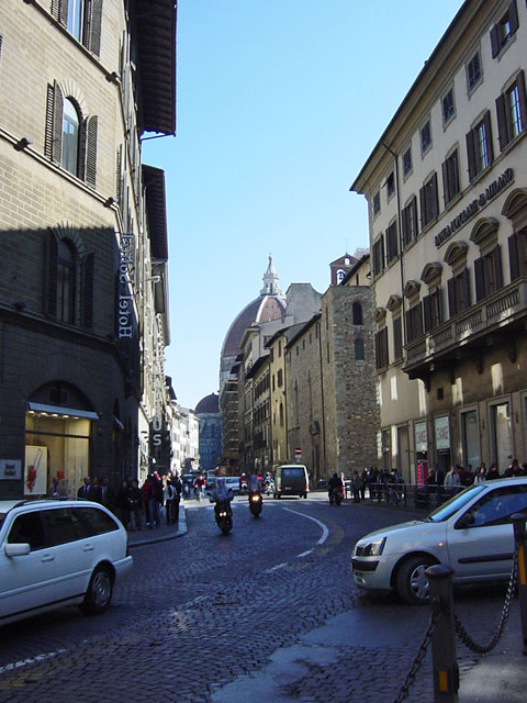 イタリア2003 冷静と情熱のフィレンツェへ