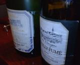 サービスの白ワイン