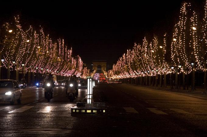 コンコルド広場から凱旋門