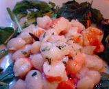 魚介と豆のマリネ