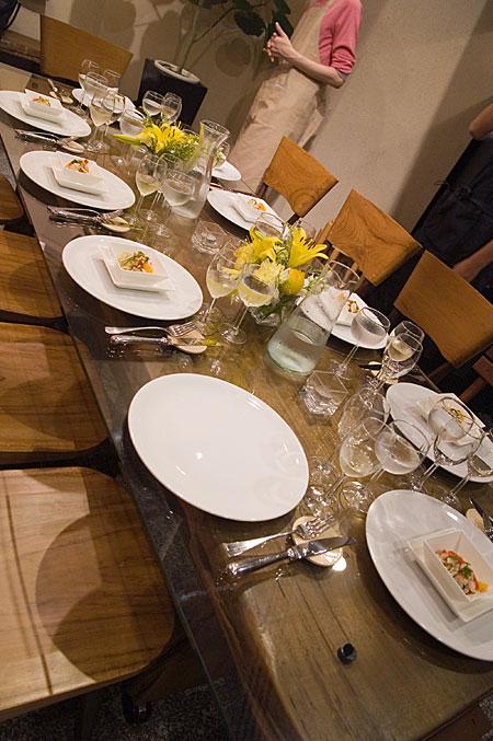 シチリア風サラダテーブル
