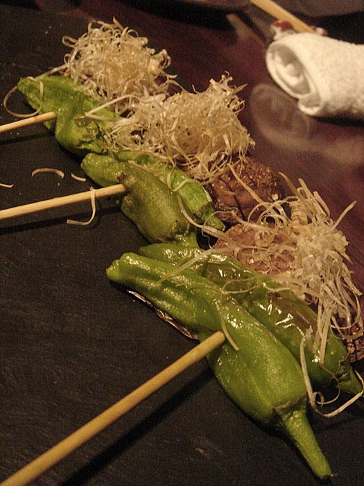 きんぎょ野菜串