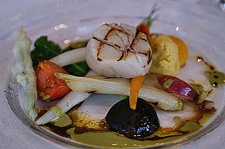 オデリス前菜