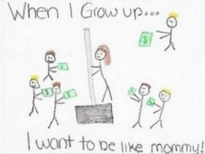 「ママのようになりたい…」