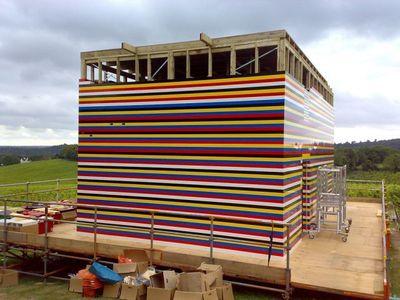 300万個のレゴで家を建設00