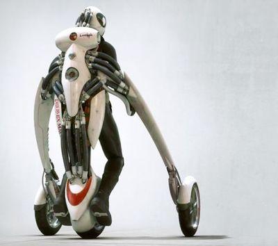 変形・装着するバイク04