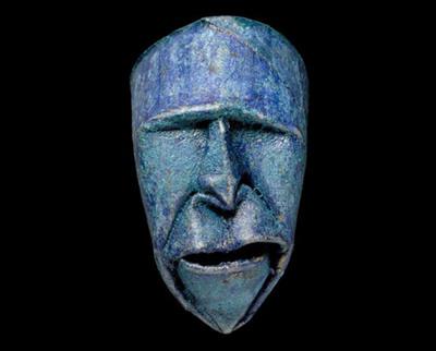 トイレットペーパーの芯で造った顔アート01