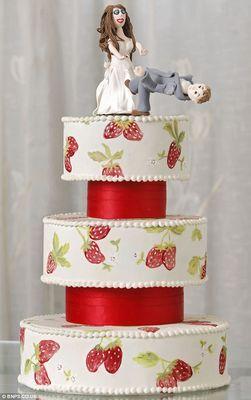離婚ケーキ