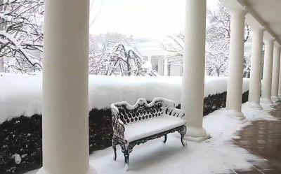 大雪の米国首都03