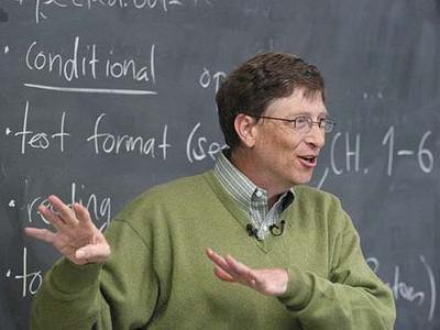 ビル・ゲイツ「学校では教えてくれない人生に役立つ11のルール」